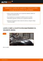 Cómo cambiar: muelles de suspensión de la parte delantera - Ford Focus MK2 | Guía de sustitución