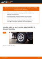 Cómo cambiar: muelles de suspensión de la parte trasera - Ford Focus MK2 | Guía de sustitución
