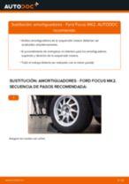 Cómo cambiar: amortiguadores de la parte trasera - Ford Focus MK2 | Guía de sustitución