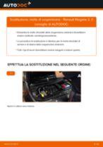 Come cambiare molle di sospensione della parte anteriore su Renault Megane 2 - Guida alla sostituzione