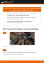 Tutorial di riparazione e manutenzione Renault Kangoo KW
