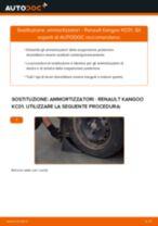 PDF manuale sulla manutenzione KANGOO