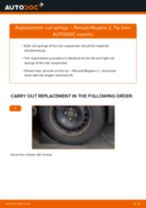 Auto mechanic's recommendations on replacing RENAULT RENAULT MEGANE II Saloon (LM0/1_) 1.9 dCi Springs