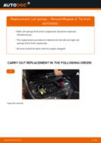 Online manual on changing Engine spark plug yourself on Mercedes R107