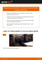 Replacing ABS wheel speed sensor on OPEL Zafira Life (K0) - tips and tricks