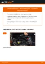 Byta fjäderben fram på Renault Megane 2 – utbytesguide
