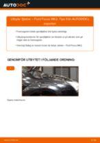 Montering Spiralfjädrar FORD FOCUS II Saloon (DA_) - steg-för-steg-guide