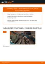 Hvordan bytte og justere Hovedlykter RENAULT KANGOO: pdf håndbøker