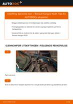 Montering Støtdempere RENAULT KANGOO (KC0/1_) - steg-for-steg manualer