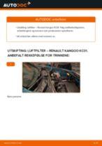 Instruksjonsbok RENAULT KANGOO