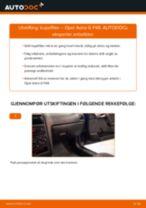 Slik bytter du kupefilter på en Opel Astra G F48 – veiledning