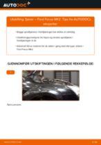 Montering Spiralfjær FORD FOCUS II Saloon (DA_) - steg-for-steg manualer