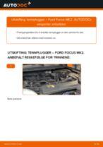 DENSO I40 til Focus II Sedan (DB_, FCH, DH) | PDF manual for bytte