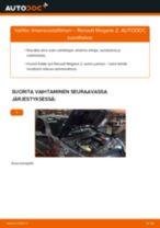 Kuinka vaihtaa ilmansuodattimen Renault Megane 2-autoon – vaihto-ohje