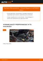 Jak wymienić Filtr powietrza RENAULT MEGANE II Saloon (LM0/1_) - instrukcje online