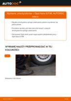 Jak wymienić amortyzator tył w Opel Astra G F48 - poradnik naprawy