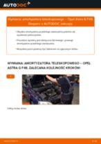 Jak wymienić amortyzator teleskopowy przód w Opel Astra G F48 - poradnik naprawy