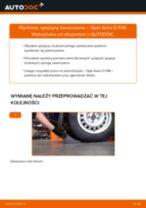 Jak wymienić sprężyny zawieszenia tył w Opel Astra G F48 - poradnik naprawy