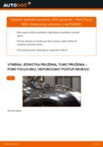 Ako vymeniť a regulovať Tlmiče perovania FORD FOCUS: sprievodca pdf