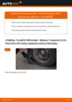 Podrobný průvodce opravami pro Renault Grand Kangoo
