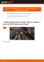 Manuální PDF pro údržbu KANGOO