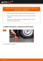Jak vyměnit zadní pružiny podvozku na Opel Astra G F48 – návod k výměně