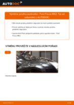 Jak vyměnit přední pružiny podvozku na Ford Focus MK2 – návod k výměně