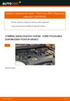 Doporučení od automechaniků k výměně FORD Ford Focus mk2 Sedan 1.8 TDCi Klinovy zebrovany remen