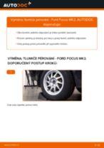 Jak vyměnit zadní tlumiče pérování na Ford Focus MK2 – návod k výměně