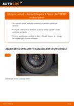 Kako zamenjati avtodel vzmeti zadaj na avtu Renault Megane 2 – vodnik menjave