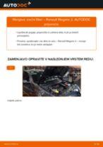 PDF priročnik za zamenjavo: Zracni filter RENAULT MEGANE II stopnicasti zadek (LM0/1_)