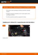 Kako zamenjati avtodel vzmeti spredaj na avtu Renault Megane 2 – vodnik menjave