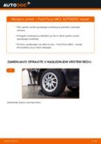 Kako zamenjati avtodel vzmeti zadaj na avtu Ford Focus MK2 – vodnik menjave