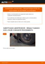 Guia passo-a-passo do reparo do Renault Kangoo 2 Express