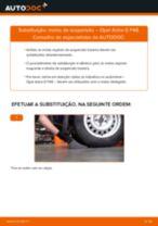 Como mudar molas de suspensão da parte traseira em Opel Astra G F48 - guia de substituição
