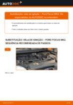 Como mudar vela de ignição em Ford Focus MK2 - guia de substituição