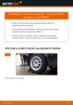Tutorial passo a passo em PDF sobre a substituição de Maxilas De Travão De Mão no Renault Megane 2 Carrinha