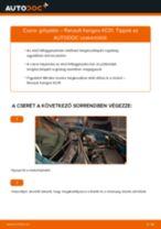 RENAULT KANGOO (KC0/1_) Lengéscsillapító szett beszerelése - lépésről-lépésre útmutató