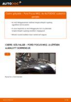 Elülső gólyaláb-csere Ford Focus MK2 gépkocsin – Útmutató
