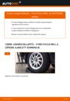 Hátsó lengéscsillapító-csere Ford Focus MK2 gépkocsin – Útmutató