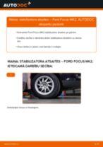 FORD FOCUS Savienotājstienis maiņa: bezmaksas pdf