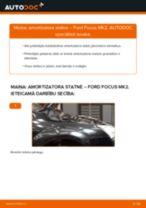 Kā nomainīt: priekšas amortizatora statni Ford Focus MK2 - nomaiņas ceļvedis