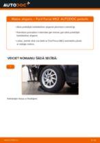 Kā nomainīt: aizmugures atsperes Ford Focus MK2 - nomaiņas ceļvedis