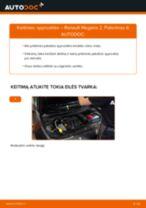 Kaip pakeisti Renault Megane 2 spyruoklės: priekis - keitimo instrukcija