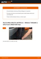Manual de reparație RENAULT MEGANE - instrucțiuni pas cu pas și tutoriale