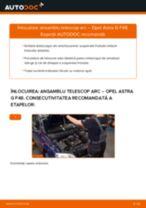 Cum să schimbați: ansamblu telescop arc din față la Opel Astra G F48   Ghid de înlocuire