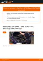 Cum să schimbați: arc spiral din față la Opel Astra G F48   Ghid de înlocuire