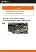 Recomandările mecanicului auto cu privire la înlocuirea FORD Ford Focus mk2 Sedan 1.8 TDCi Curea transmisie cu caneluri