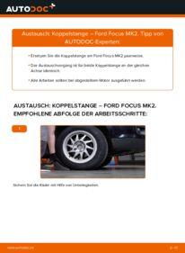 Wie der Wechsel durchführt wird: Koppelstange 1.6 TDCi Ford Focus mk2 Limousine tauschen
