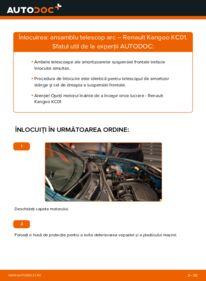 Cum să efectuați înlocuirea: Amortizor la D 65 1.9 Renault Kangoo kc01